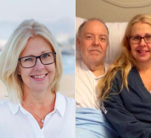 Anna – Jag hade aldrig haft en tanke på donation innan Anders, min bror, blev sjuk.