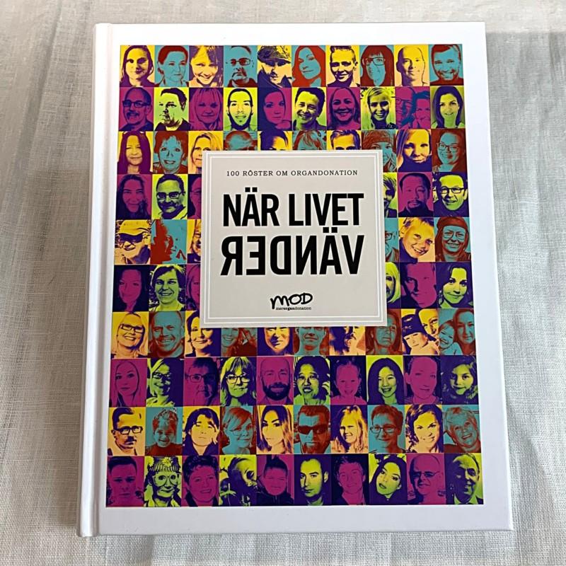 """Bok """"När livet vänder"""" 400 kr"""