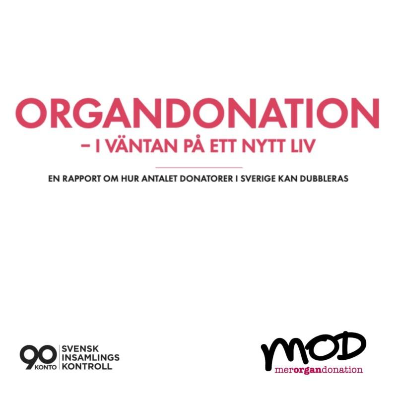 Rapport om Organdonation